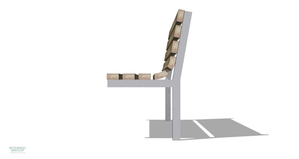 gartenbank sitzbank slc17 edelstahl mit holz pflanzenversand pflanzenhandel pflanzen. Black Bedroom Furniture Sets. Home Design Ideas