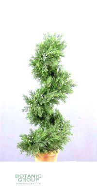 Kunstbaum - Zypresse, spiralform