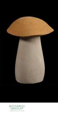 Naturstein - Skulptur Pilz groß