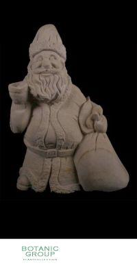 Naturstein - Skulptur Nikolaus mit Glocke