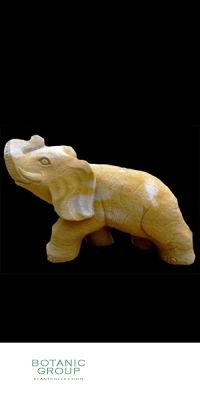 Naturstein - Skulptur Elefant