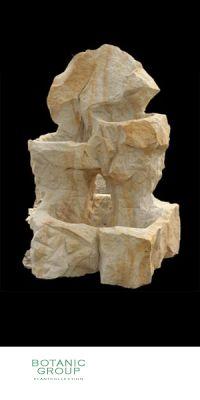 Sandstein - Brunnen Dreistufig
