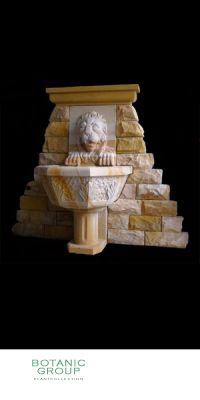 Sandstein - Wandbrunnen Classik 6