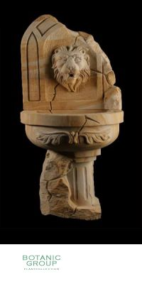 Sandstein - Wandbrunnen Antik 1