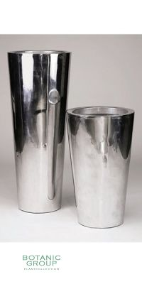 Pflanzgefäß Aluminum poliert