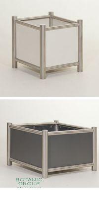 Pflanzgefäß Stainless Tube Design - Cubis