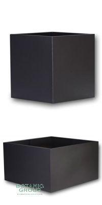 Aluminiumpflanzgefäß Designline BASIC-Cube