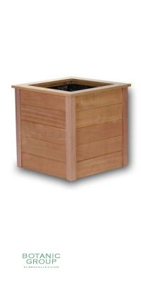 FSC Wood vessel BASIC Country Cube