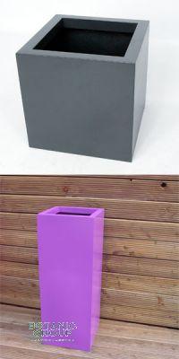 Glass-reinforced plastic planting vessel Designline