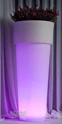 Beleuchtetes Pflanzgefäß Illumina Pollux