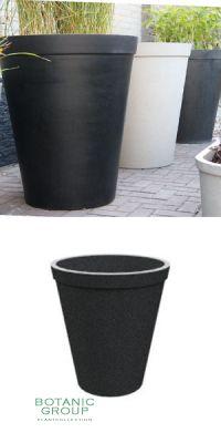 Concrete planter poly KONUS XXL BORDO