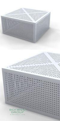 Freiraummöbel - Tisch SLC 01, Stahl oder Edelstahl