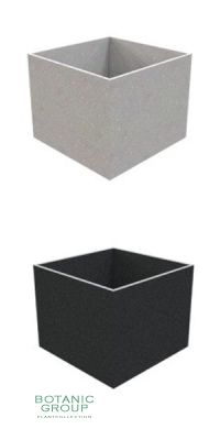 Concrete planter poly CUBE XXL