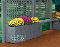 Pflanzkübel Urban Green 02, Pflanzgefäß aus Holz