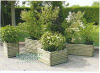Pflanzkasten Urban Green 05, Pflanzgefäß aus Holz