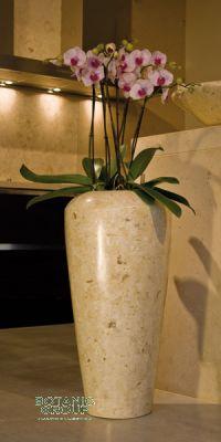 Planter fiberglass stone, fiberglass plant vase