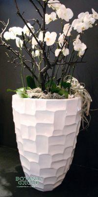 Planters loft MoonGlow, plastic flower pots