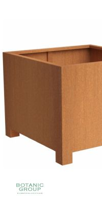 COR-TEN steel vessel BC Designline BASIC-CUBE
