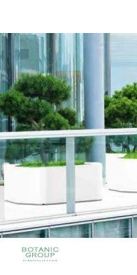 Glass-reinforced plastic planting vessel BC Designline Twist