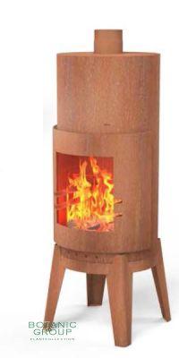 Garden fireplace Cortenstahl FIRESTAR PATIO II
