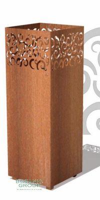 Cortensteel fire column FireGlow