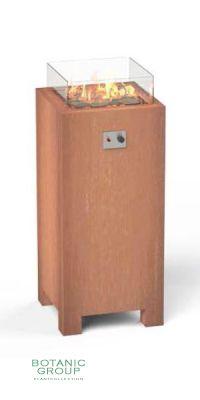 Design- Feuertisch FIREGLOW BLOCK
