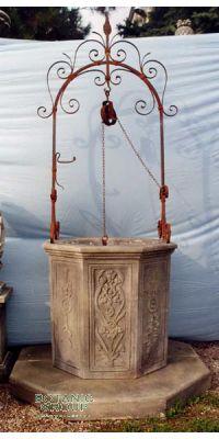 Ziehbrunnen mediterran