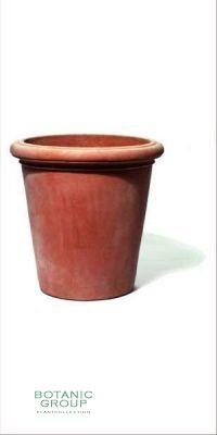 Terracotta Pflanzgefäß - Vaso Camelia