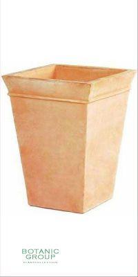 Terracotta Pflanzgefäß - Vaso Alto Bordo fino