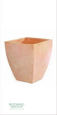 Terracotta Pflanzgefäß - Vaso quadro uno