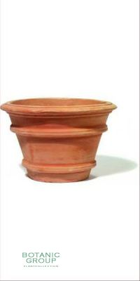Terracotta Planter - Vaso treppio bordo