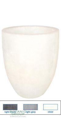 Kunstoff- Pflanzgefäß Polyester Glass-Line