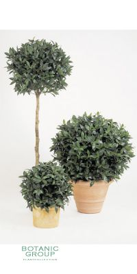 Kunstpflanze - Laurus nobillis Variation Kugel