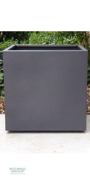 stahlpflanzgef designline cube pflanzk bel stahl. Black Bedroom Furniture Sets. Home Design Ideas