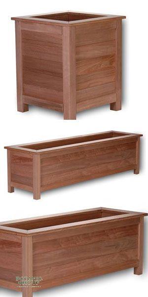 hartholz pflanzgef exclusive parkline garden. Black Bedroom Furniture Sets. Home Design Ideas