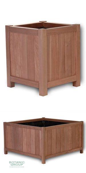 hartholz pflanzgef exclusive parkline design. Black Bedroom Furniture Sets. Home Design Ideas