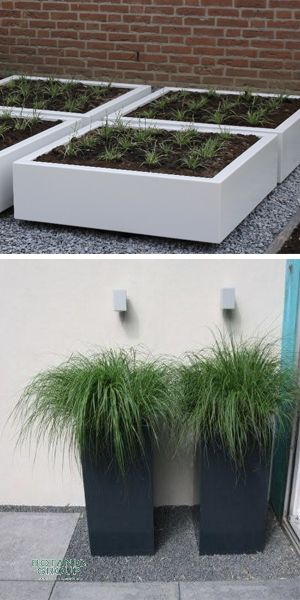 Pflanzgefäße - Aluminiumpflanzgefäß Designline \