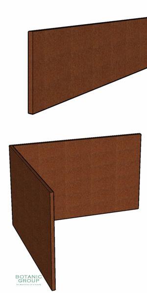 rasenkante aus corten stahl 200 mm h he. Black Bedroom Furniture Sets. Home Design Ideas