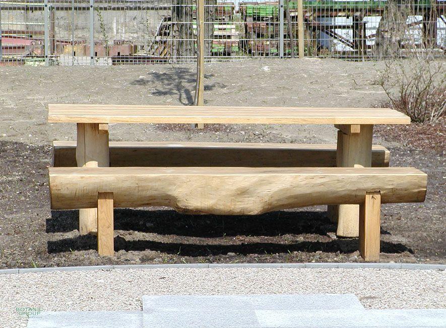 sitzgruppe woody 03 holzb nke mit tisch. Black Bedroom Furniture Sets. Home Design Ideas