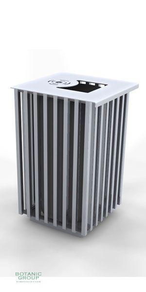 abfallbeh lter slc15 edelstahl stadtm bel. Black Bedroom Furniture Sets. Home Design Ideas