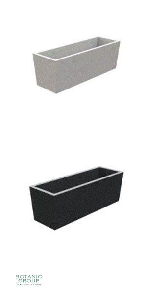 Beton PolyBeton Pflanzkübel \