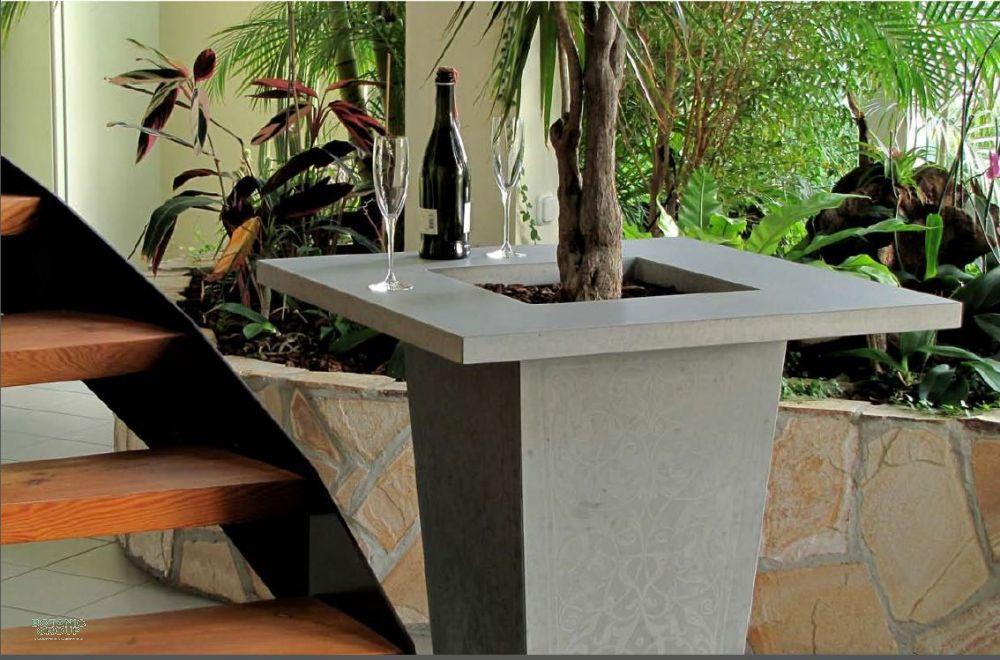 beton pflanzgef concept mit extra breitem rand. Black Bedroom Furniture Sets. Home Design Ideas