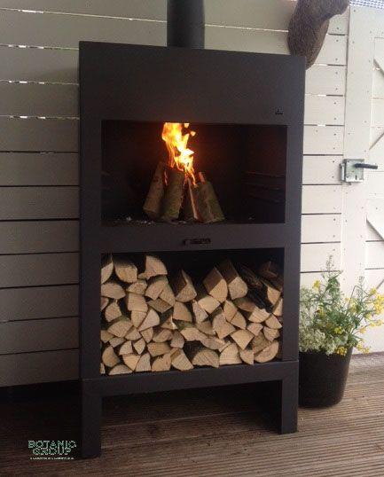 gartenkamin cortenstahl fireglow block. Black Bedroom Furniture Sets. Home Design Ideas