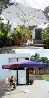 Parasol Riviera Premium, umbrellas rectangular