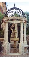 Tempel mit 5 Säulen