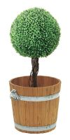 Plant container wood